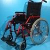 Scaun cu rotile din aluminiu Meyra –ieftin ( l sezut 48 cm)