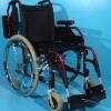 Scaun cu rotile din otel si aluminiu second hand Dietz /41 cm