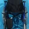 Scaun cu rotile handicap din aluminiu 2M / 42 cm