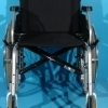 Scaun cu rotile second hand Dietz 47 cm suporta 130kg
