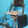 Scaun cu WC handicap de la Invacare- gri inchis