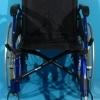 Scaun din aluminiu fara un suport picior Casa Care /sezut 42 cm