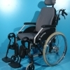 Scaun handicap nepliabil second hand Meyra / 44 cm