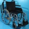 Scaun handicap second hand B+B cu cadru gri-45 cm