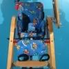 Scaun pentru copii cu roti second hand Ato Formi din lemn