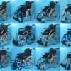 Scaun rulant - carucior handicap pliabil