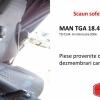 Scaun sofer camion MAN TGA 18.430