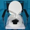 Scaun WC cu inaltator atasat Invacare
