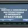 Service si consumabile imprimante 0744373828 cu executie si  livrare rapida in B