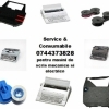 Service si consumabile ptr.masini de scris mecanice si electrice.