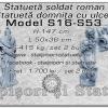 Set statuete soldat si domnita model S16,S53.
