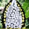 Sistem scriere panglici lente pentru jerbele de flori, coroane si buchete de flo