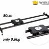Slider Wieldy mini Carbon Fiber, 80 cm, pentru foto DSLR, videocamere.
