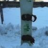 Snowboard O.Sin 164 cm + placa