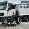 Soferi camion germania si muncitori schele