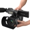 Sony NX100 si Panasonic AC30 videocamere nunti