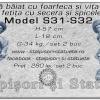 Statuete copilasi din beton model S31, S32.