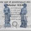 Statuete sezone anotimpuri complet model S34.