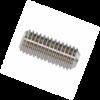 Stift filetat locas imbus pas fin (Hexagon socket set screws with flat point and