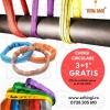 Super oferta verii : chingi textile circulare 3+1 gratis
