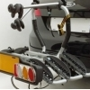 Suport 3 Biciclete Sistem fix Peruzzo Siena cu prindere pe carligul de remorcare
