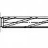 Surub autoforant cap bombat locas cruce Cross recessed pan head thread cutting S