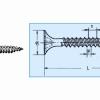 SURUB GIPS-CARTON CU PRINDERE PE PROFILE DE METAL SAU LEMN  DRY WALL SCREW FOR S