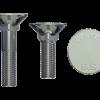 Șuruburi cu gât pătrat și cap înecat (Flat countersunk square neck bolts)