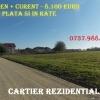Teren 4 km de Bucuresti - Berceni Ilfov / in RATE