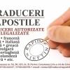 TRADUCERI AUTORIZATE LEGALIZATE APOSTILE CONSTANTA