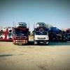 Transport autorizat de autoturisme pe platforma Anglia-Romania
