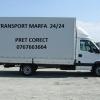 Transport marfa 24/ 24, Luni pana Duminica - 3,5t 20 m3 cu prelata.