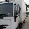 Transport marfa cu camion de 7,5 tone dotat cu lift