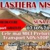 Transport nisip,  balast, vand nisip,  balast,  pietris, evacuari moloz