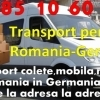 TRANSPORT PERSOANE ROMANIA-GERMANIA ( TUR-RETUR)