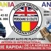 Transport persoane si colete Romania - Anglia