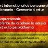 Transport persoane si colete Romania - Germania
