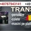 Transport persoane si colete Romania Germania wal
