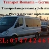Transport Romania-Austria-Germania si retur la saptamana