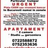 Urgent cumpar aprtament 2 camere sau garsoniera