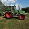 Vand tractor Fendt 611 turbomatic .