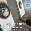 Vopsea antifoc pentru lemn Top Fire Stop